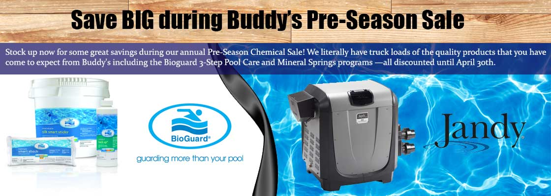 Baltimore Pre Season Pool Chemical Sale