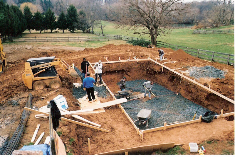 Baltimore pool construction for Swimming pool construction company