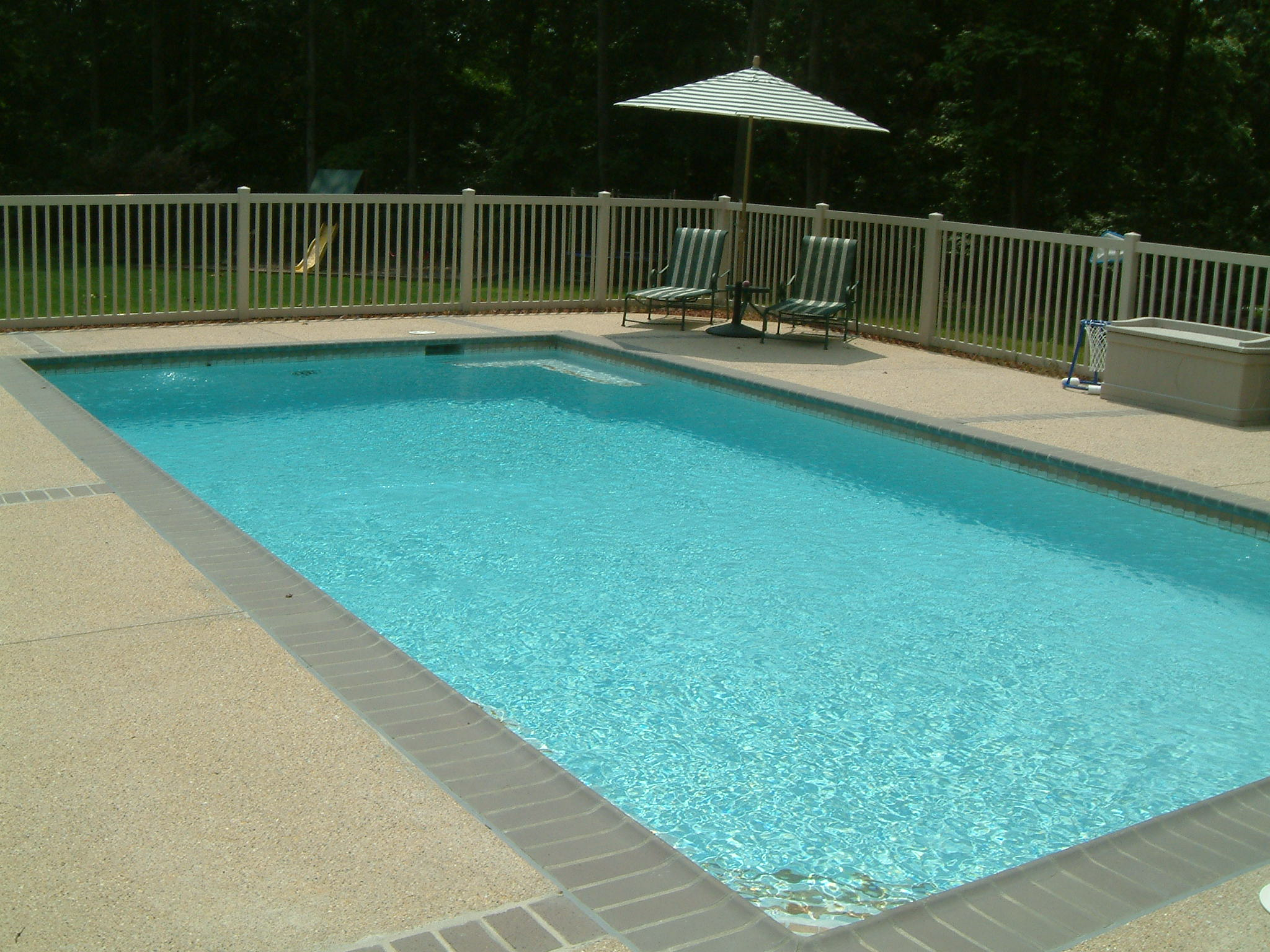 Swimming pools rectangle type for Pool design basics