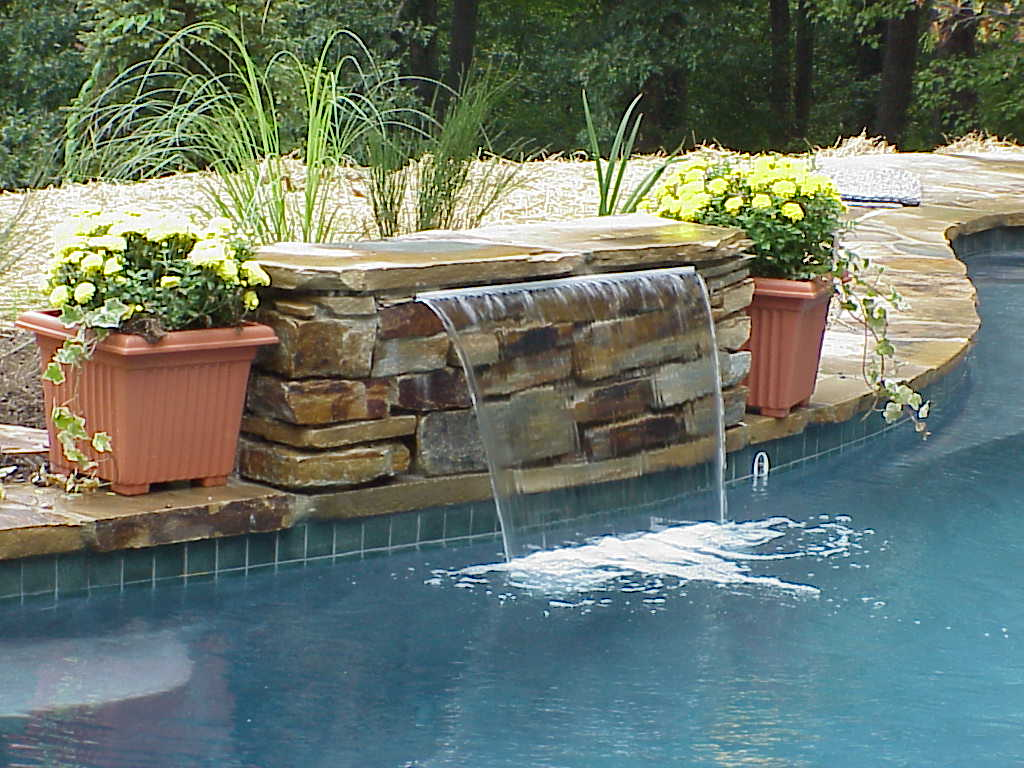 Pool Fountains And Waterfalls The Best Inspiration For